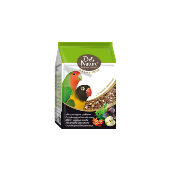 Deli Nature 5 Afrikai közép papagáj 800g