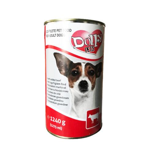 Dolly Dog kutya konzerv, Marha – 1240g