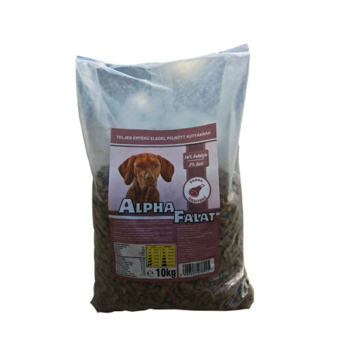 Alpha Falat Száraz Kutyatáp Sonkás – 10 kg