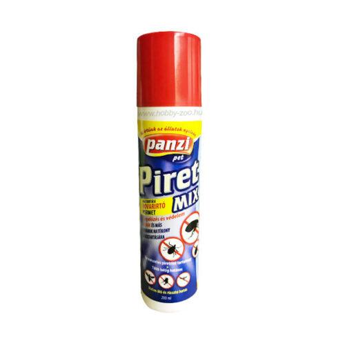 Panzi PiretMix bolha, kullancs, tetű, atka elleni permet spray - 200ml