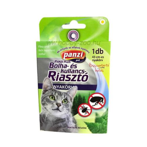 Panzi bolha- és kullancsriasztó nyakörv macskáknak