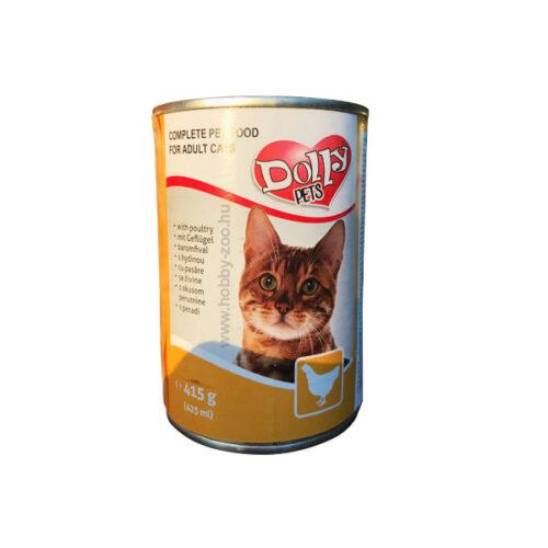 Dolly Cat Konzerv Csirke - 415g