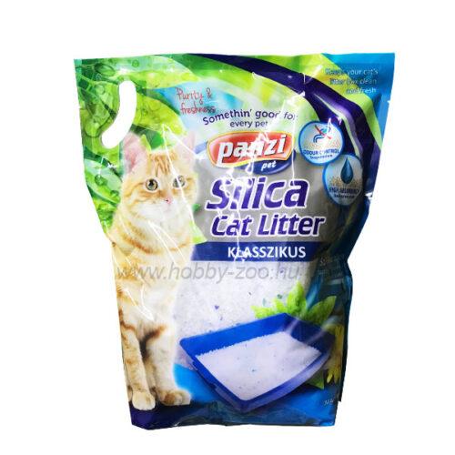 Panzi Silica Cat Litter Szilika Alom - 3,4kg