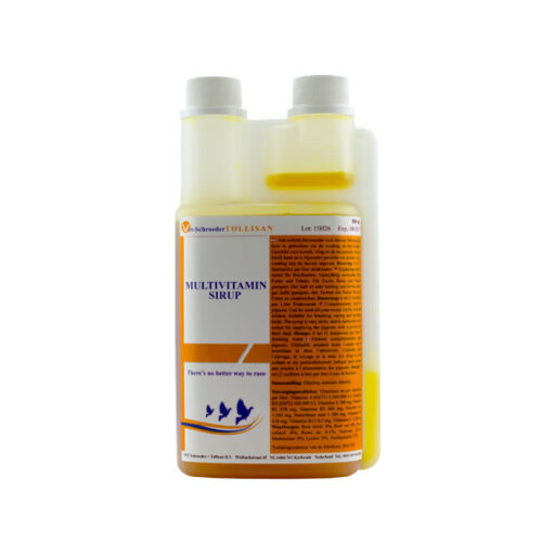 Tollisan Multi-Vitamin-Syrup - 500ml