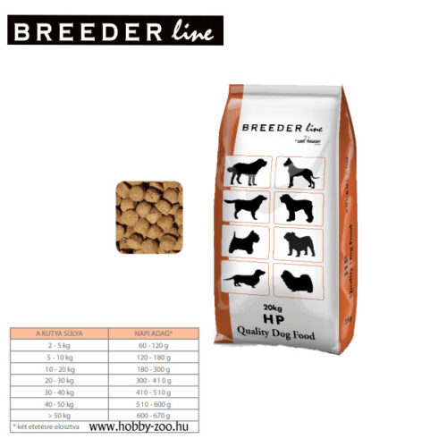 Breeder Line HP (High Power) - 20kg