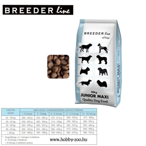 Breeder Line Junior Maxi - 20kg